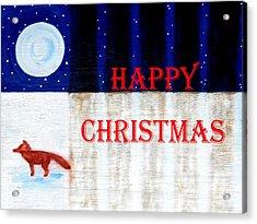 Happy Christmas 28 Acrylic Print by Patrick J Murphy