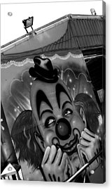 Happy Clown Acrylic Print by Jez C Self