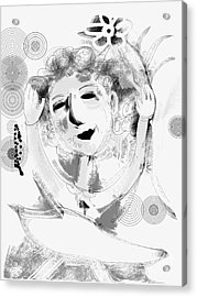 Happy Dance Acrylic Print by Elaine Lanoue