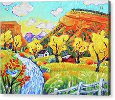 Happy Day In Lyons Acrylic Print