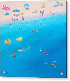 Happy Days At The Seaside Acrylic Print by Jan Matson