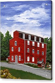 Acrylic Print featuring the painting Happy  by Diane Daigle