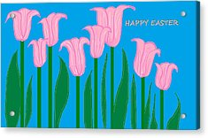Happy Easter 1 Acrylic Print