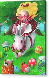 Happy Easter Acrylic Print