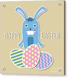 Happy Easter Acrylic Print by Alina Krysko