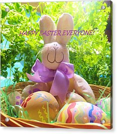 Happy Easter Everyone Acrylic Print