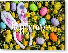 Acrylic Print featuring the photograph Happy Easter by Teri Virbickis