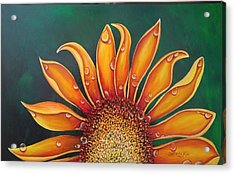 Happy Flower Acrylic Print