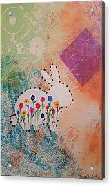 Happy Garden Acrylic Print