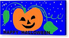 Happy Halloween 1 Acrylic Print