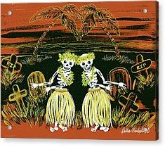 Happy Halloween Dance Acrylic Print