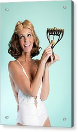 Happy Hanukkah 3 Acrylic Print