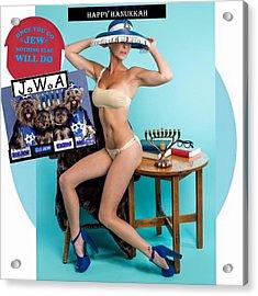 Happy Hanukkah 4 Acrylic Print