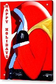 Happy Holidays 6 Acrylic Print by Patrick J Murphy