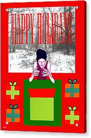 Happy Holidays 63 Acrylic Print by Patrick J Murphy