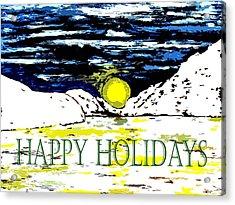 Happy Holidays 82 Acrylic Print by Patrick J Murphy