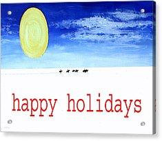 Happy Holidays 92 Acrylic Print by Patrick J Murphy