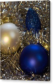 Happy Holidays Card 02 Acrylic Print by Karen Musick