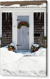 Acrylic Print featuring the photograph Happy Holidays by Michelle Wiarda