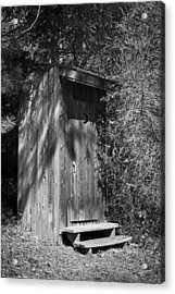 Happy Hollow Outhouse Acrylic Print