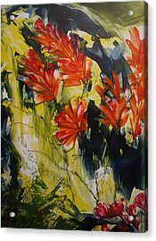 Happy In June  Acrylic Print by Heather Hennick