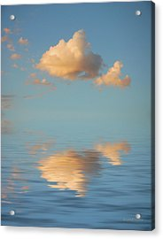 Happy Little Cloud Acrylic Print by Jerry McElroy