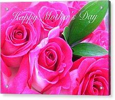 Happy Mother's Day Acrylic Print by Alohi Fujimoto