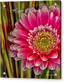 Happy Mother's Day Card 1 Acrylic Print