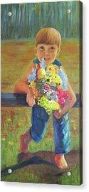 Happy Mothers Day Acrylic Print by Dana Redfern
