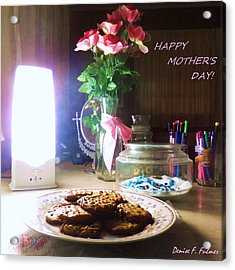 Happy Mothers Day Acrylic Print