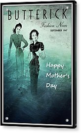 Happy Mother's Day Acrylic Print by Patrice Zinck