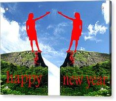 Happy New Year 36 Acrylic Print