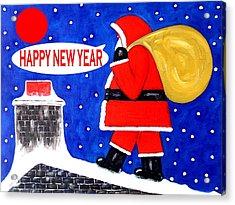Happy New Year 48 Acrylic Print by Patrick J Murphy