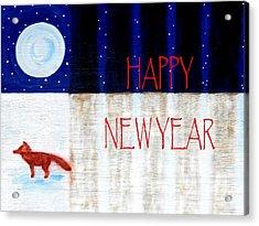 Happy New Year 9 Acrylic Print by Patrick J Murphy