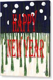 Happy New Year 92 Acrylic Print by Patrick J Murphy