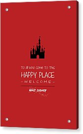 Happy Place Acrylic Print
