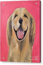 Happy Pup Acrylic Print