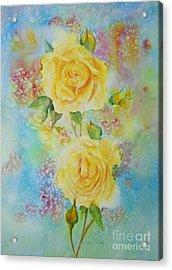 Happy Roses Acrylic Print