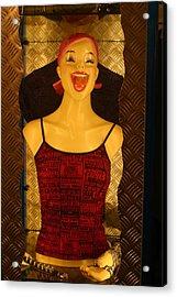 Happy World Acrylic Print by Jez C Self