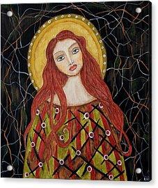 Harachel Acrylic Print by Rain Ririn