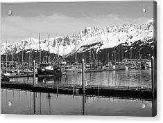 Harbor Boats Acrylic Print by Ty Nichols