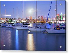 Harbor Bright Acrylic Print