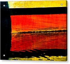 Harbor Colors Acrylic Print