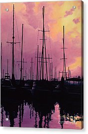 Harbor Glow Acrylic Print