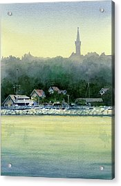 Harbor Master, Port Washington Acrylic Print