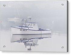 Harbor Mist   Acrylic Print by Thomas Schoeller