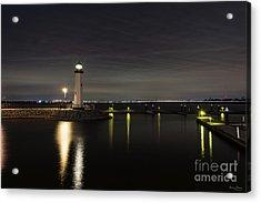Harbor Rockwall Lighthouse Acrylic Print