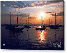 Harbor Sunrise Acrylic Print