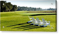 Harbor Town At Seapines 18th Hole Acrylic Print