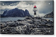 Acrylic Print featuring the photograph Harbour Lighthouse by James Billings